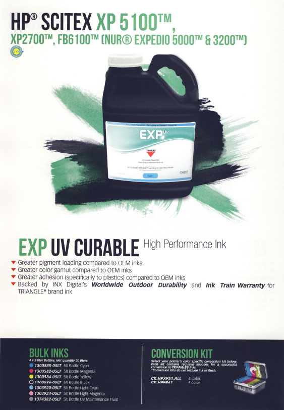 EXP UV CURABLE