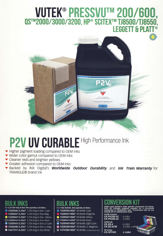 P2V UV CURABLE